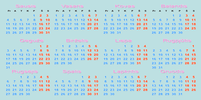 Kada metai turi tiek dienų, kiek žmogus akių?