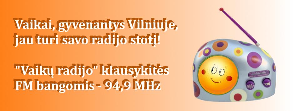 Vaikų radijas – Vilniuje FM 94,9