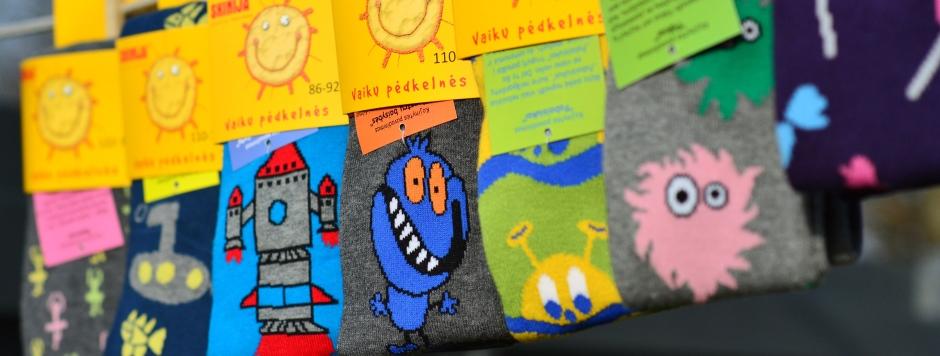 """""""Skinija"""" jau dešimtus metus kviečia vaikus kurti kojines"""